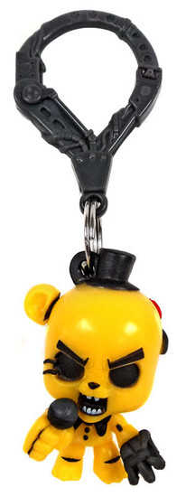 Five Nights at Freddy's FNAF Hangers Series 1 Golden Freddy Collector Clip [Loose]