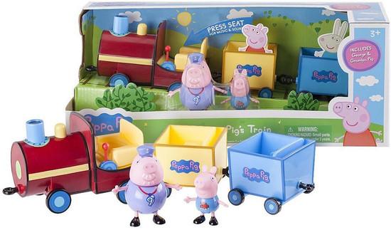 Peppa Pig's Train Vehicle & Figure Set