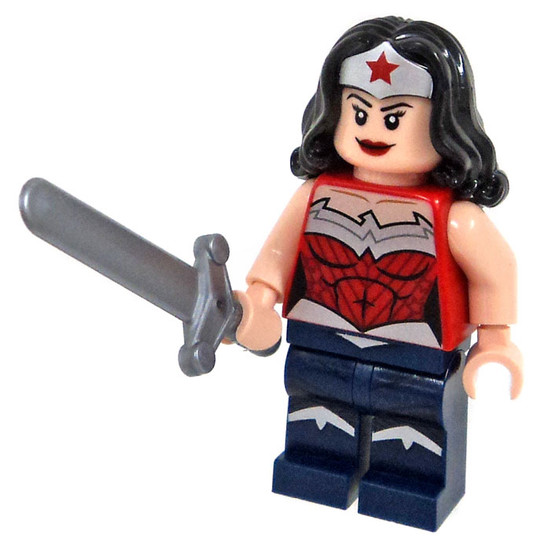 LEGO DC Universe Super Heroes Wonder Woman Minifigure [with Sword Loose]