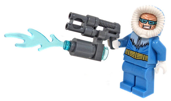 LEGO DC Universe Super Heroes Captain Cold Minifigure [Loose]