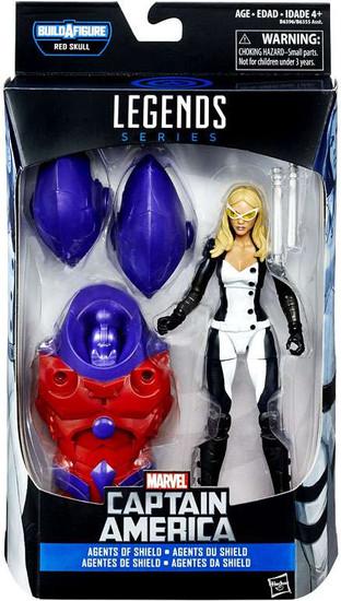 Captain America Civil War Marvel Legends Red Skull Mockingbird Action Figure [Agents of Shield]