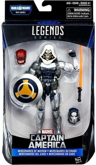 Captain America Civil War Marvel Legends Red Skull Taskmaster Action Figure [Mercenaries of Mayhem]