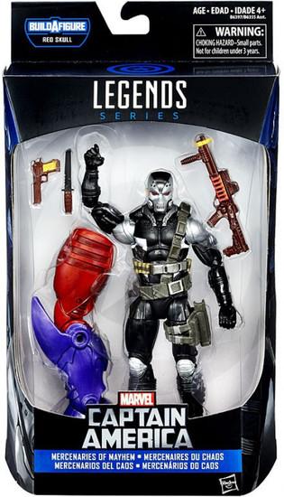 Captain America Civil War Marvel Legends Red Skull Marvel's Demolition Man Action Figure [Scourge, Mercenaries of Mayhem]