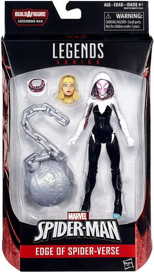 Marvel Legends Spider-Man Absorbing Man Series Spider-Gwen Action Figure [Edge of Spider-Verse]