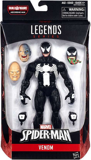 Marvel Legends Spider-Man Absorbing Man Series Venom Action Figure