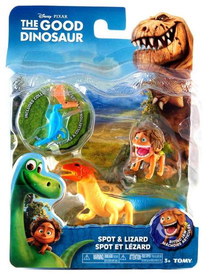 Disney The Good Dinosaur Spot & Lizard Action Figure 2-Pack