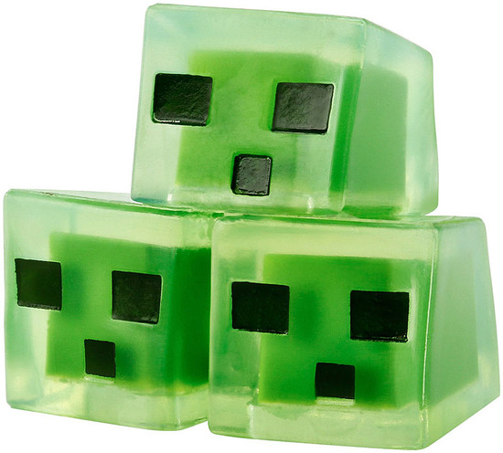 Minecraft Obsidian Series 4 Slime Cubes 1-Inch Mini Figure [Loose]