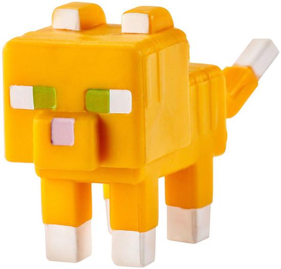 Minecraft Obsidian Series 4 Tabby Cat 1-Inch Mini Figure [Loose]