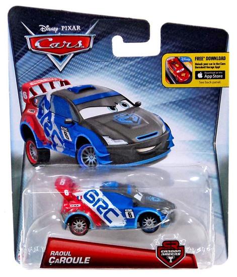 Disney / Pixar Cars Carbon Racers Raoul Caroule Diecast Car