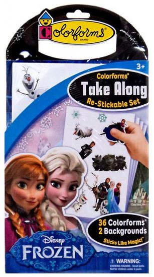 Colorforms Disney Take Along Frozen Set
