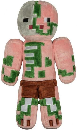 Minecraft Zombie Pigman 12-Inch Plush