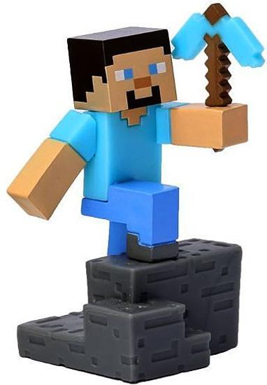 Minecraft Craftables Series 1 Steve 3-Inch PVC Figure [Loose]