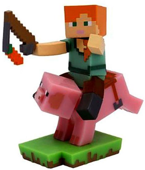 Minecraft Craftables Series 1 Pig Rider 3-Inch PVC Figure [Loose]