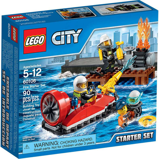 LEGO City Fire Starter Set #60106