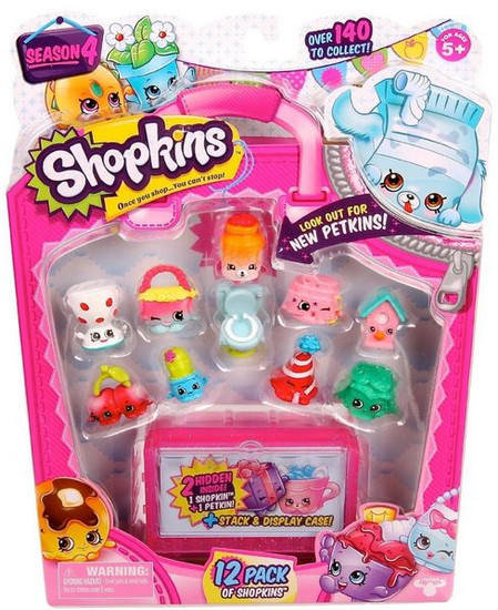 Shopkins Season 4 Mini Figure 12-Pack
