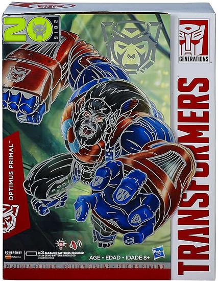 Transformers Generations Platinum Edition Optimus Primal Action Figure