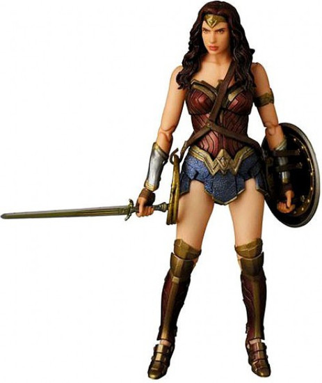 DC Batman v Superman: Dawn of Justice MAFEX Wonder Woman Exclusive Action Figure No.024 [Dawn of Justice]