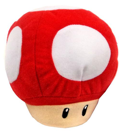 World of Nintendo Super Mario Mushroom 5-Inch Plush with Sound FX [SFX]