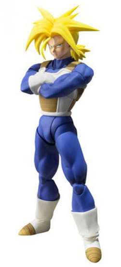 Dragon Ball Z S.H. Figuarts Super Saiyan Trunks Action Figure