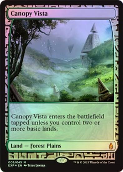 MtG Battle for Zendikar Rare Canopy Vista [Zendikar Expedition]