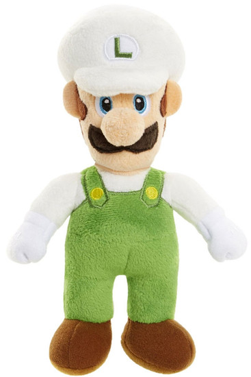 World of Nintendo Super Mario Fire Luigi 7-Inch Plush