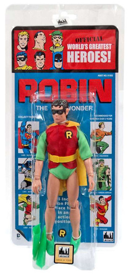DC World's Greatest Heroes! Kresge Retro Style Series 3 Robin Retro Action Figure
