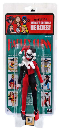 DC World's Greatest Heroes! Kresge Retro Style Series 3 Harley Quinn Retro Action Figure
