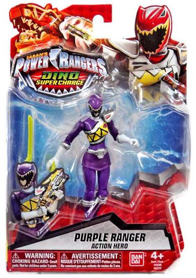 Power Rangers Dino Super Charge Purple Ranger Action Figure
