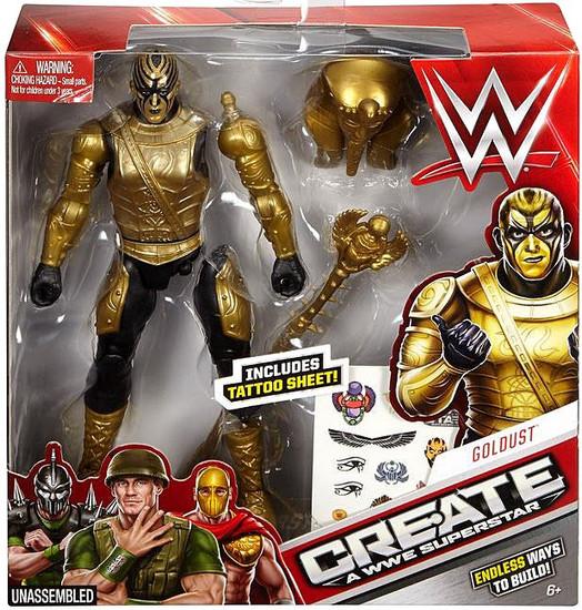 WWE Wrestling Create A WWE Superstar Goldust Action Figure