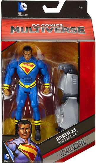 DC Earth 23 Multiverse Justice Buster Series Superman Action Figure