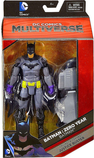 DC Batman: Zero Year Multiverse Justice Buster Series Batman Action Figure