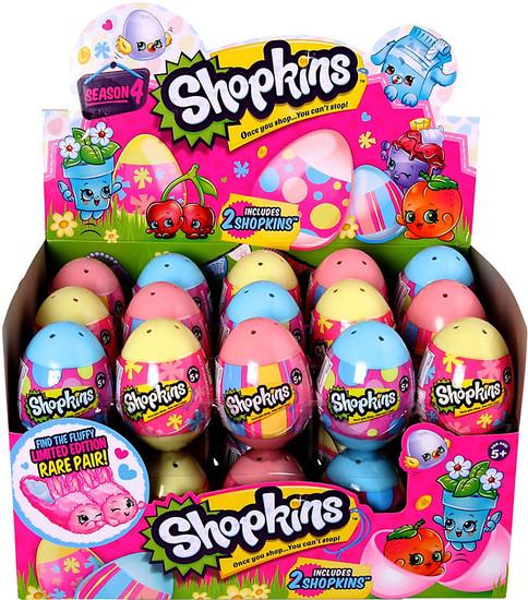 Shopkins Season 4 Easter Egg Box of 30 Mini Figure 2-Packs