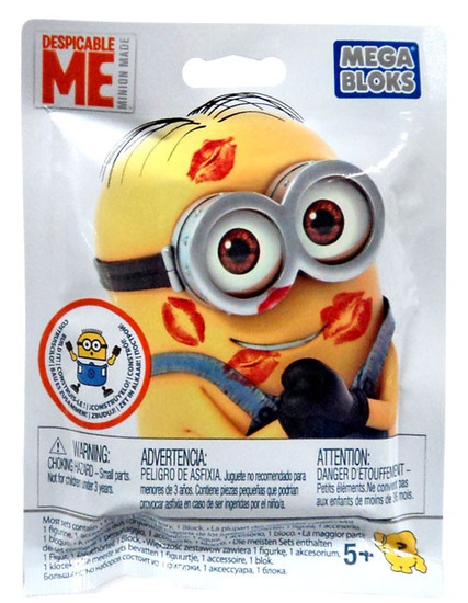 Mega Bloks Mystery Minions Valentine's Day Mystery Pack #28768