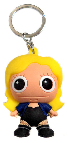 DC 3D Figural Keychains Series 3 Black Canary Keychain [Loose]