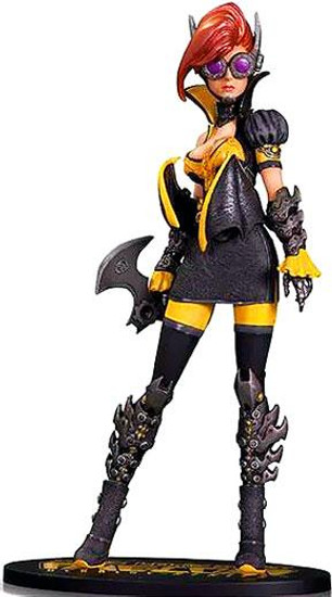 DC Ame-Comi 9 Inch Steampunk Batgirl PVC Statue [Damaged Package]