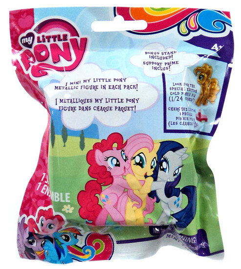 My Little Pony PVC Metallic Mystery Pack