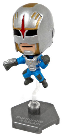 Marvel Guardians of the Galaxy Original Minis Series 1 Nova Corps Mini Bobble Head [Loose]