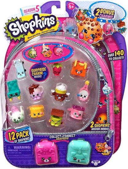 Shopkins Season 5 Mini Figure 12-Pack