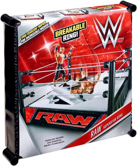 WWE Wrestling RAW Superstar Ring [Breakable]