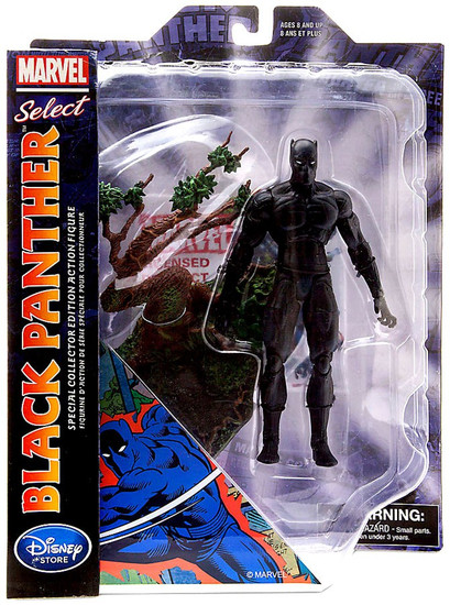 Marvel Select Black Panther Exclusive Action Figure [Comic Version]