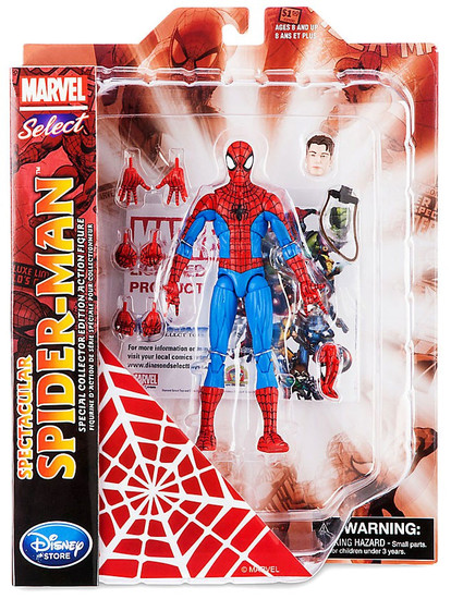 Marvel Select Spectacular Spider-Man Exclusive Action Figure [Exclusive]