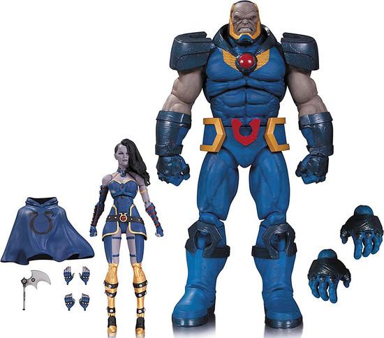 DC Icons Darkseid & Grail Deluxe Action Figure Set