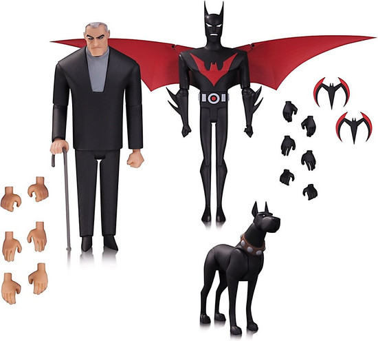 The Animated Series Batman Beyond Action Figure 3-Pack