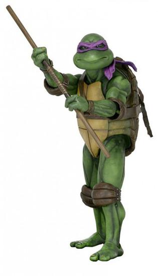 NECA Teenage Mutant Ninja Turtles Quarter Scale Donatello Action Figure [1990 Movie]