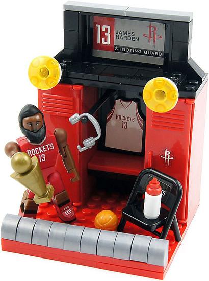 NBA Houston Rockets C3 Construction James Harden Locker Set Building Set #21527