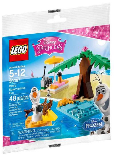 LEGO Disney Princess Frozen Olaf's Summertime Fun Set #30397 [Bagged]
