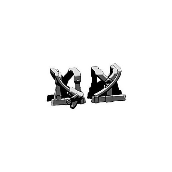 BrickArms Combat Vest WW2 German Command 2.5-Inch [Black]