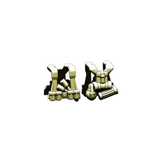 BrickArms Combat Vest WW2 German Grenadier 2.5-Inch [Olive]