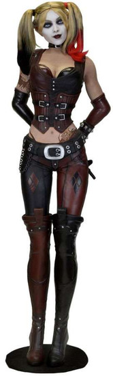 NECA DC Batman: Arkham City Life-Size Scale Harley Quinn Foam Figure