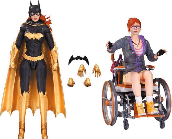 Batman Arkham Knight Oracle & Batgirl Action Figure 2-Pack
